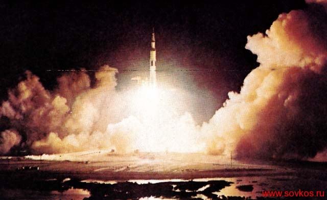 """Американская ракета-носитель """"Сатурн"""""""